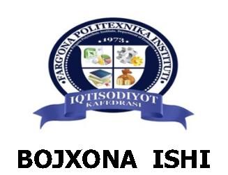 BOJXONA ISHI