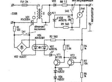 Зарядно-десульфатирующий автомат