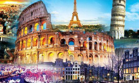 путешествие в Европу
