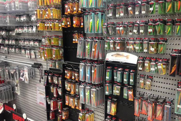 Рыболовные магазины Гонконга