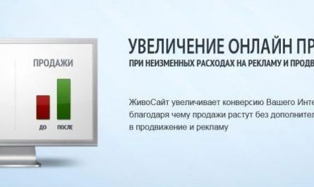 Увеличение онлайн продаж