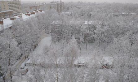Зима в Сыктывкаре