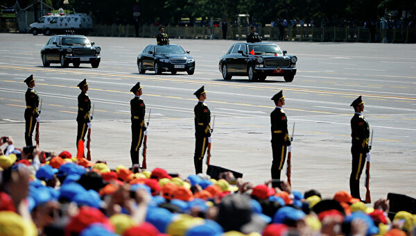 События в Китае