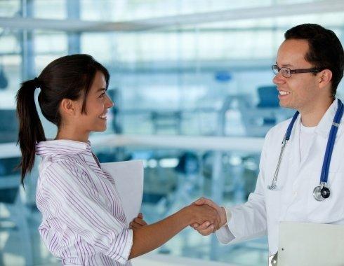 Здравствуйте, я — медицинский представитель
