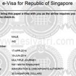 Виза Сингапур