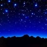Мысль и звездное небо