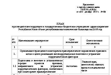 План КомиРБ 2018